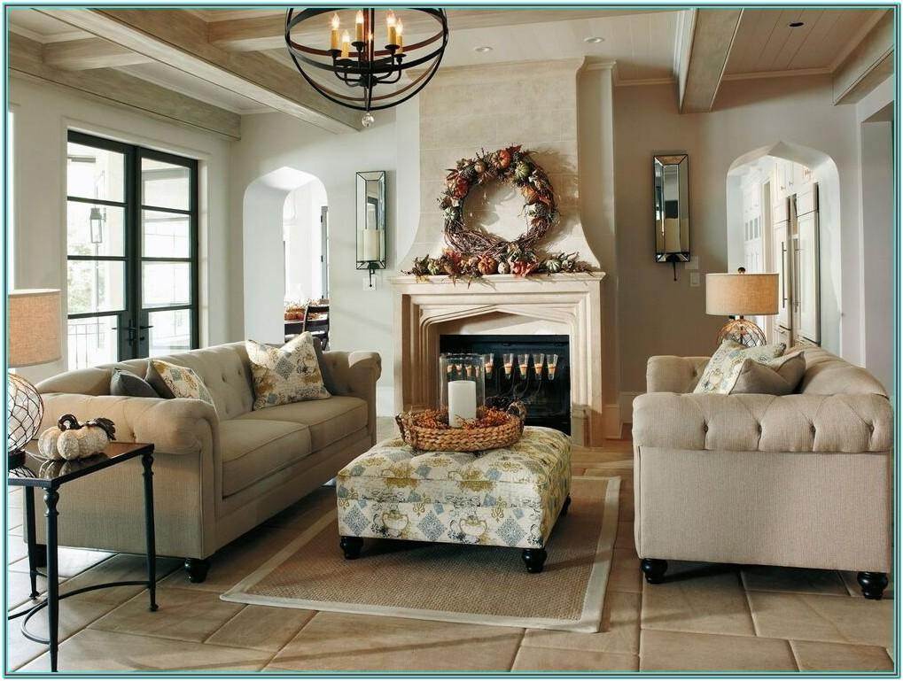 Chenille Fabric Living Room Sets