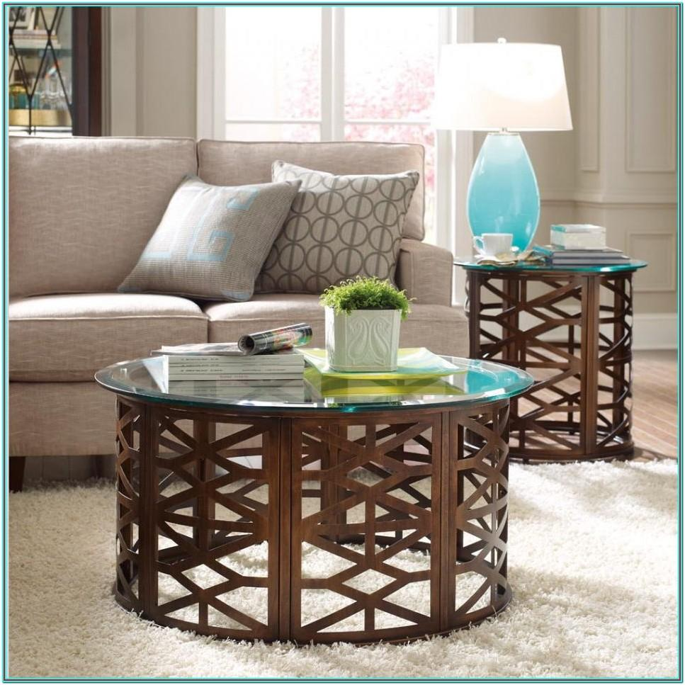 Cherry Wood End Tables Living Room