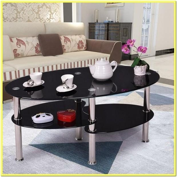 Chrome And Glass Living Room Furniture