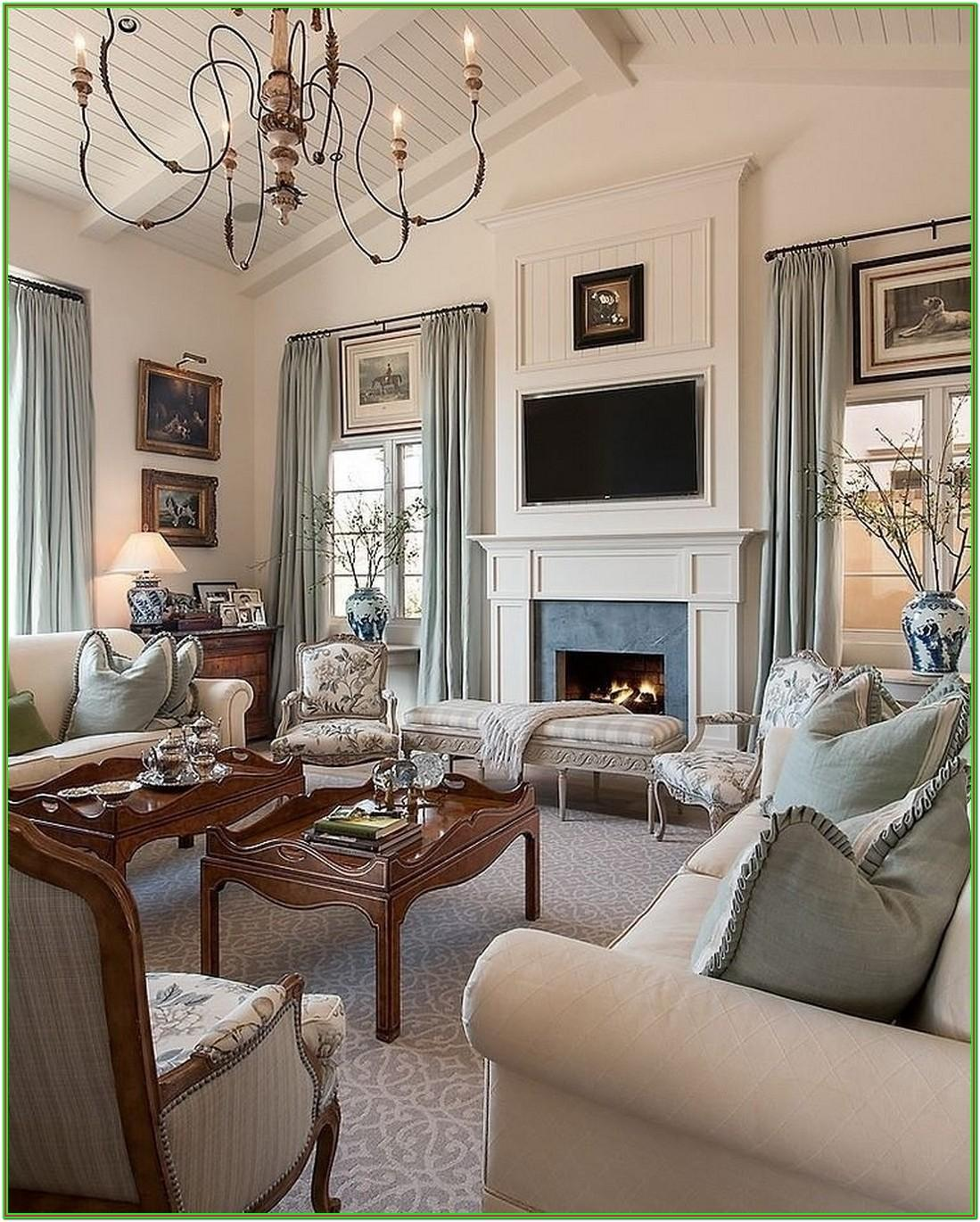 Classic French Living Room Design