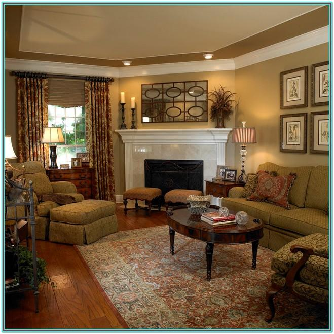 Classic Living Room Furniture Layout