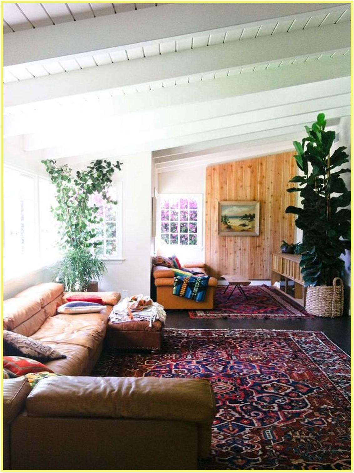 Classy Bohemian Living Room Decor