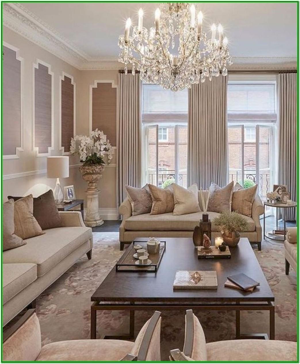 Classy Elegant Living Room Design