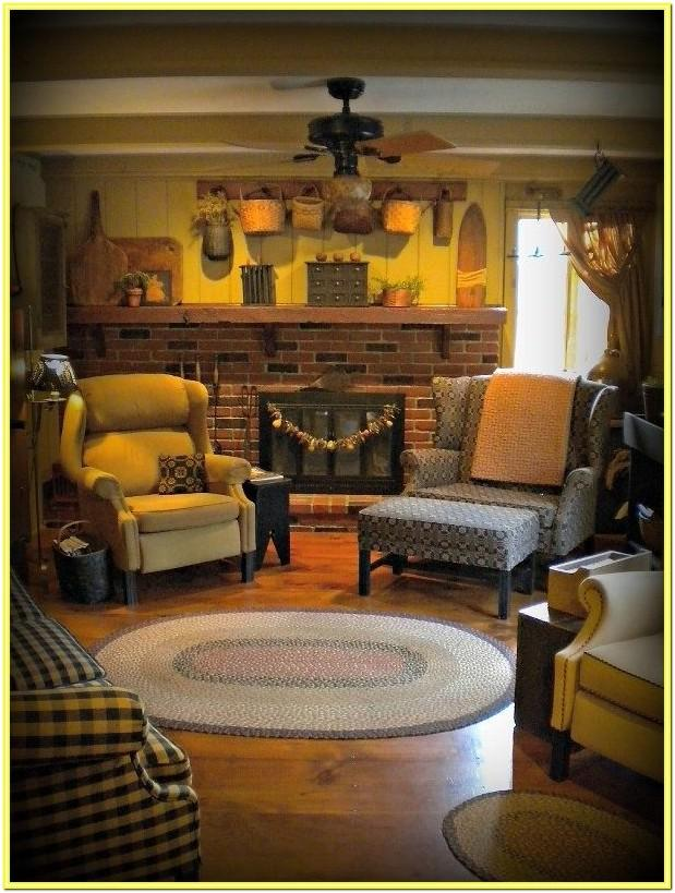 Colonial Living Room Sets
