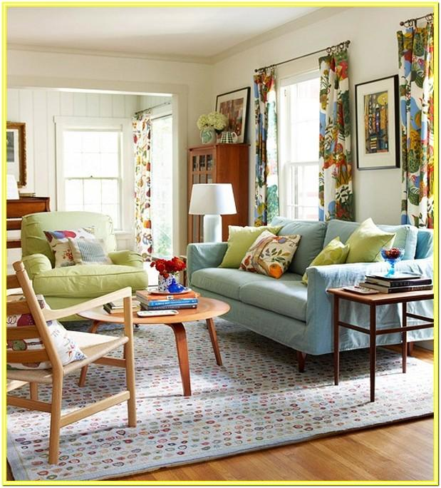 Colorful Decorating Ideas For Living Rooms