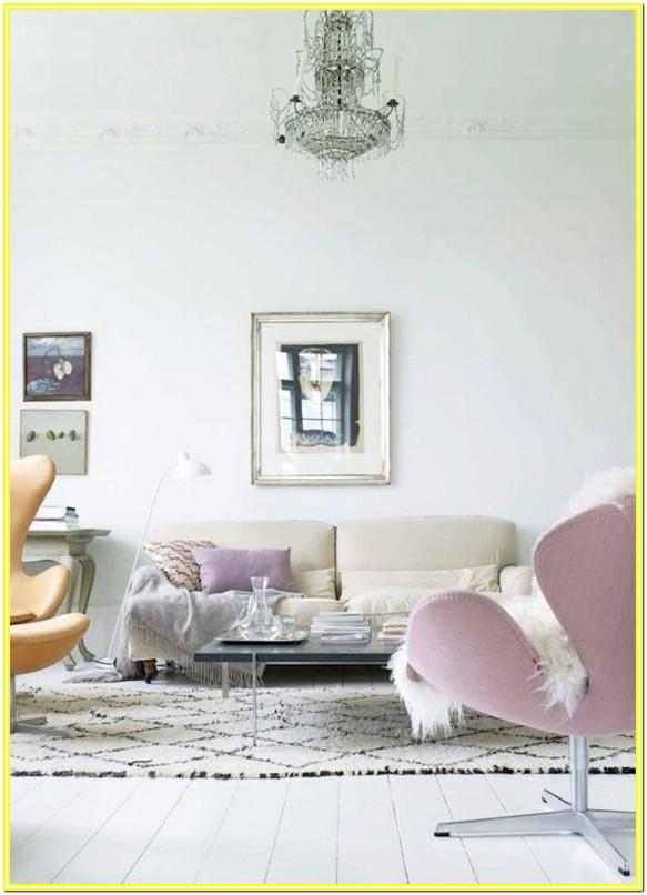 Colorful Moroccan Rug Living Room