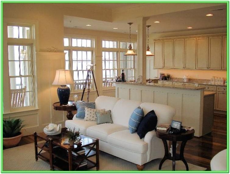 Combined Kitchen With Living Room Design Ideas
