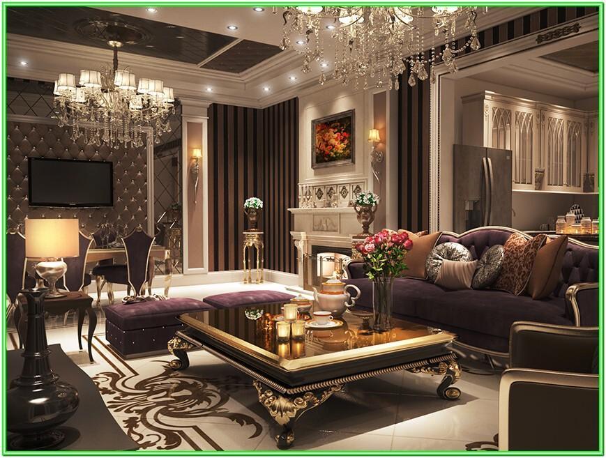 Comfy Luxurious Living Room Ideas