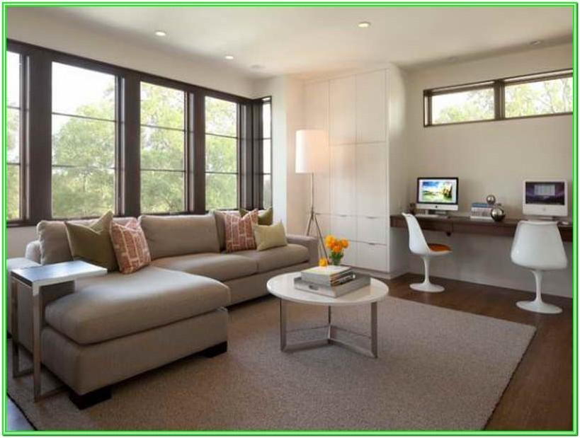 Computer Desk Living Room Ideas