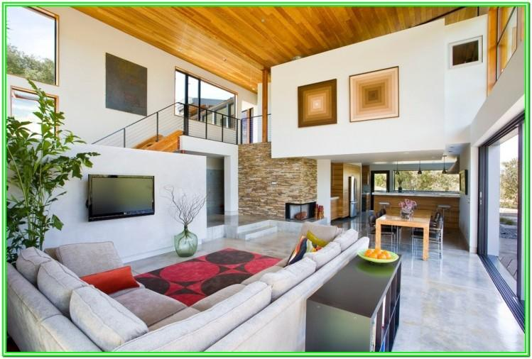 Concrete Floor Living Room Ideas