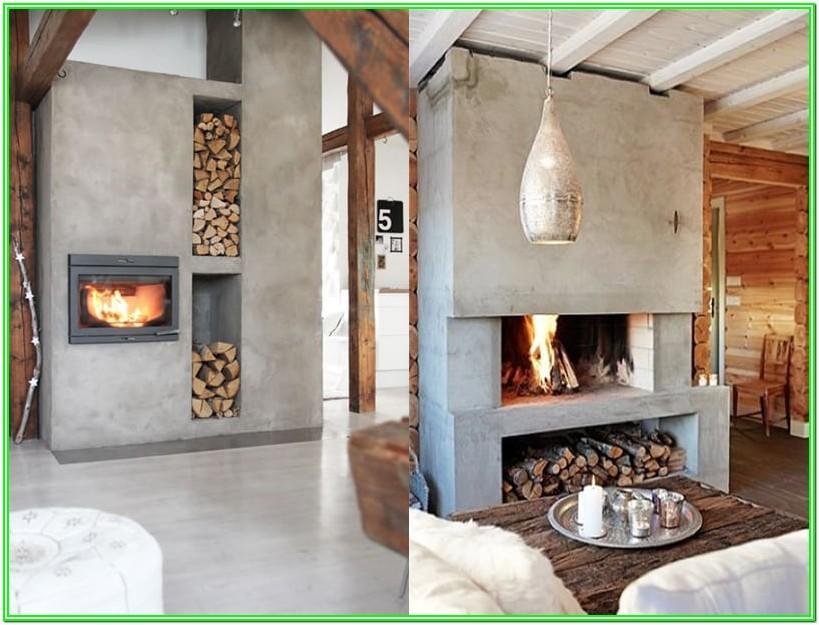 Concrete In Living Room Ideas