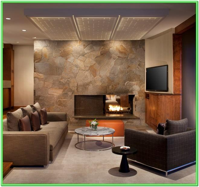 Condo Living Room With Fireplace Design Ideas