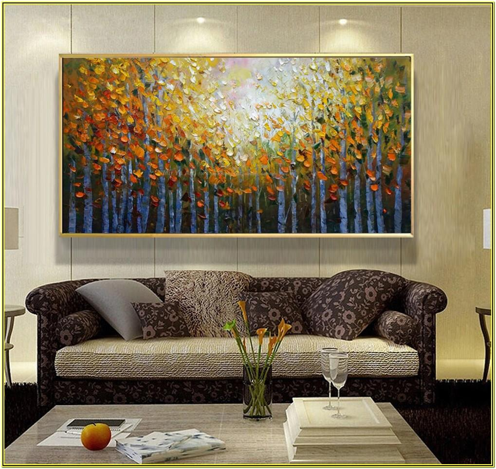 Contemporary Best Paintings For Living Room