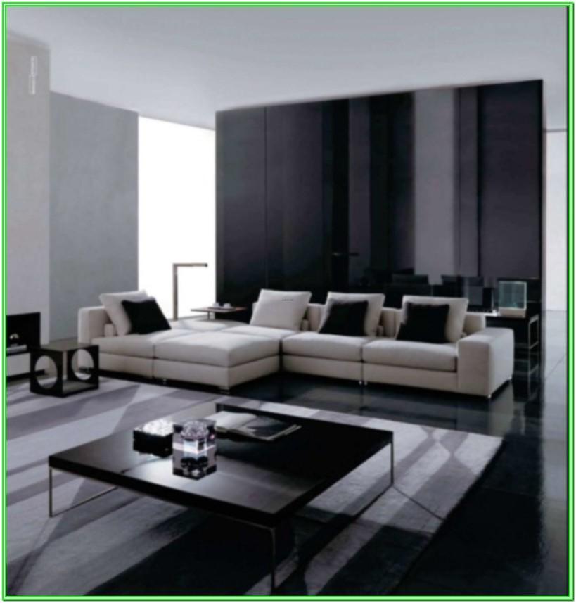 Contemporary Black And White Living Room Ideas