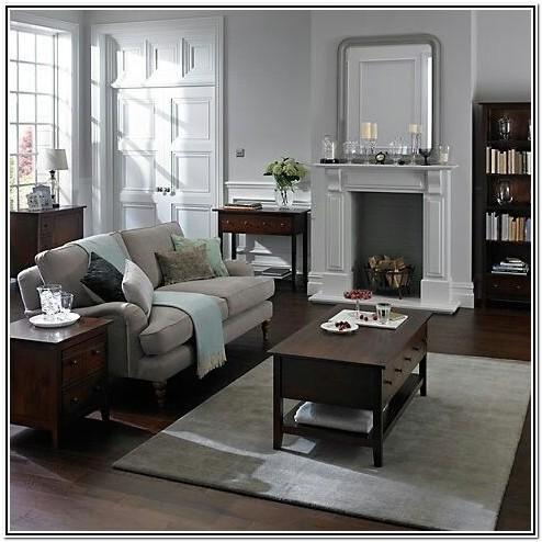 Contemporary Dark Wood Living Room Furniture