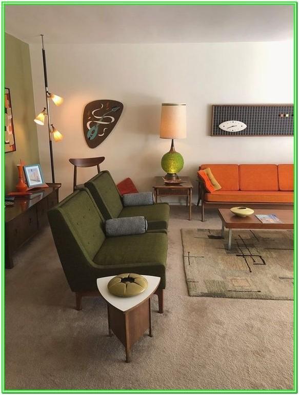 Contemporary Green Living Room Design Ideas