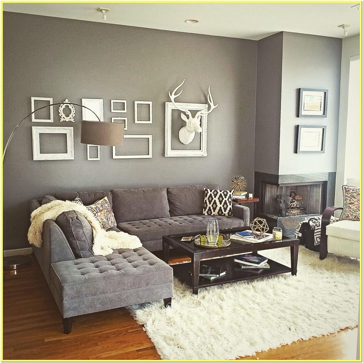 Contemporary Grey Living Room Decor