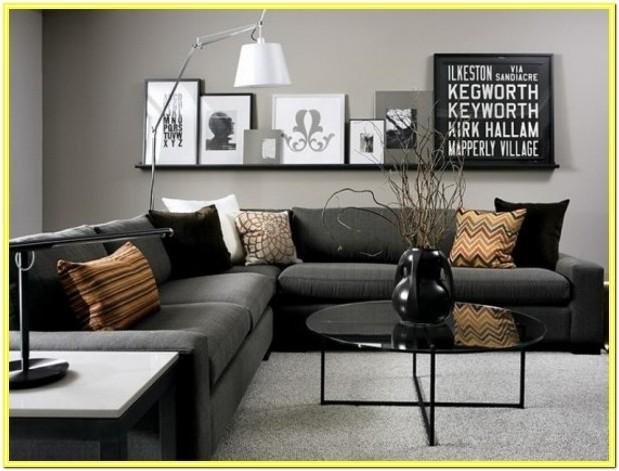 Contemporary Grey Living Room Ideas