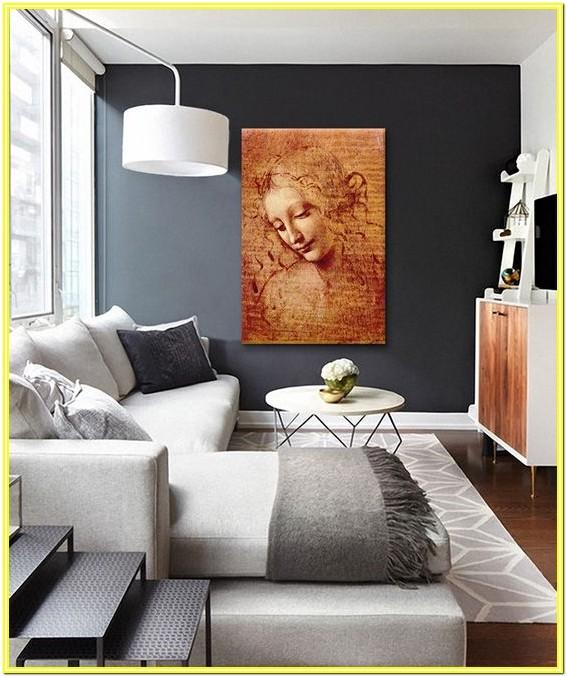 Contemporary Grey Living Room Paint Colors