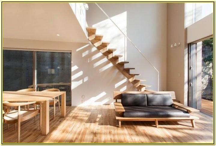 Contemporary Japanese Minimalist Living Room