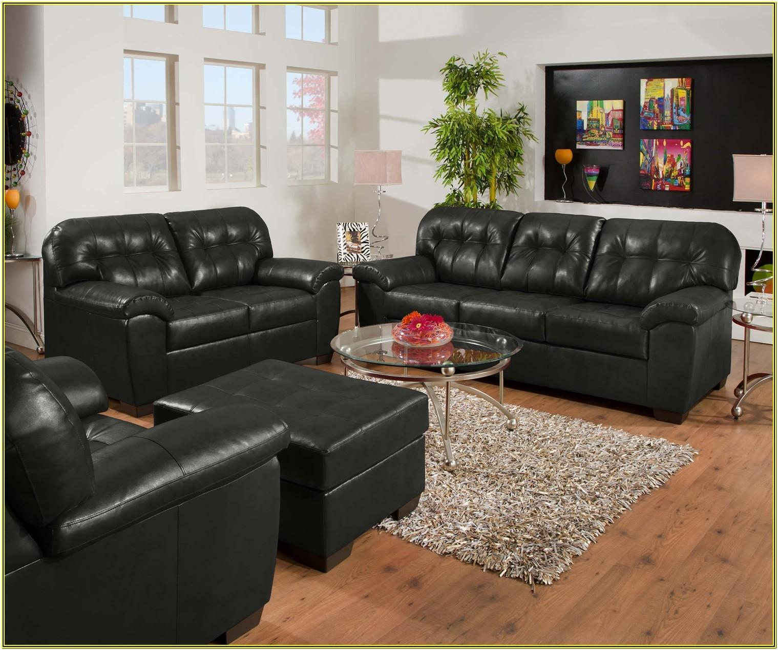 Contemporary Leather Living Room Sets