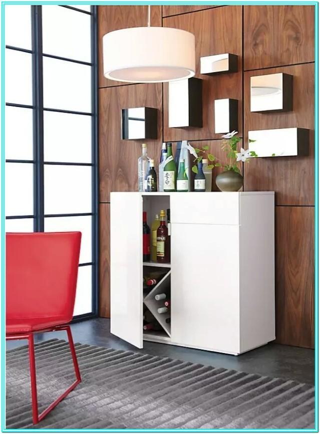 Contemporary Living Room Corner Bar