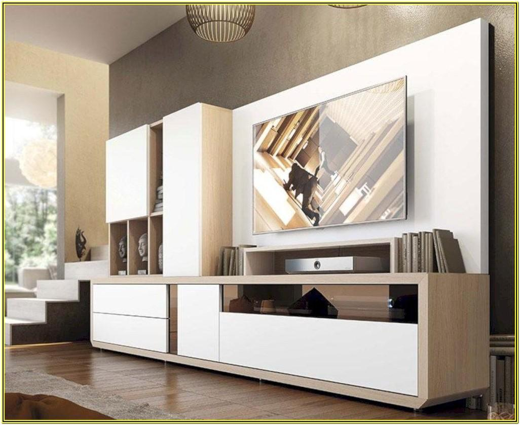 Contemporary Living Room Storage Cabinets