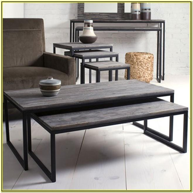Contemporary Living Room Table Sets