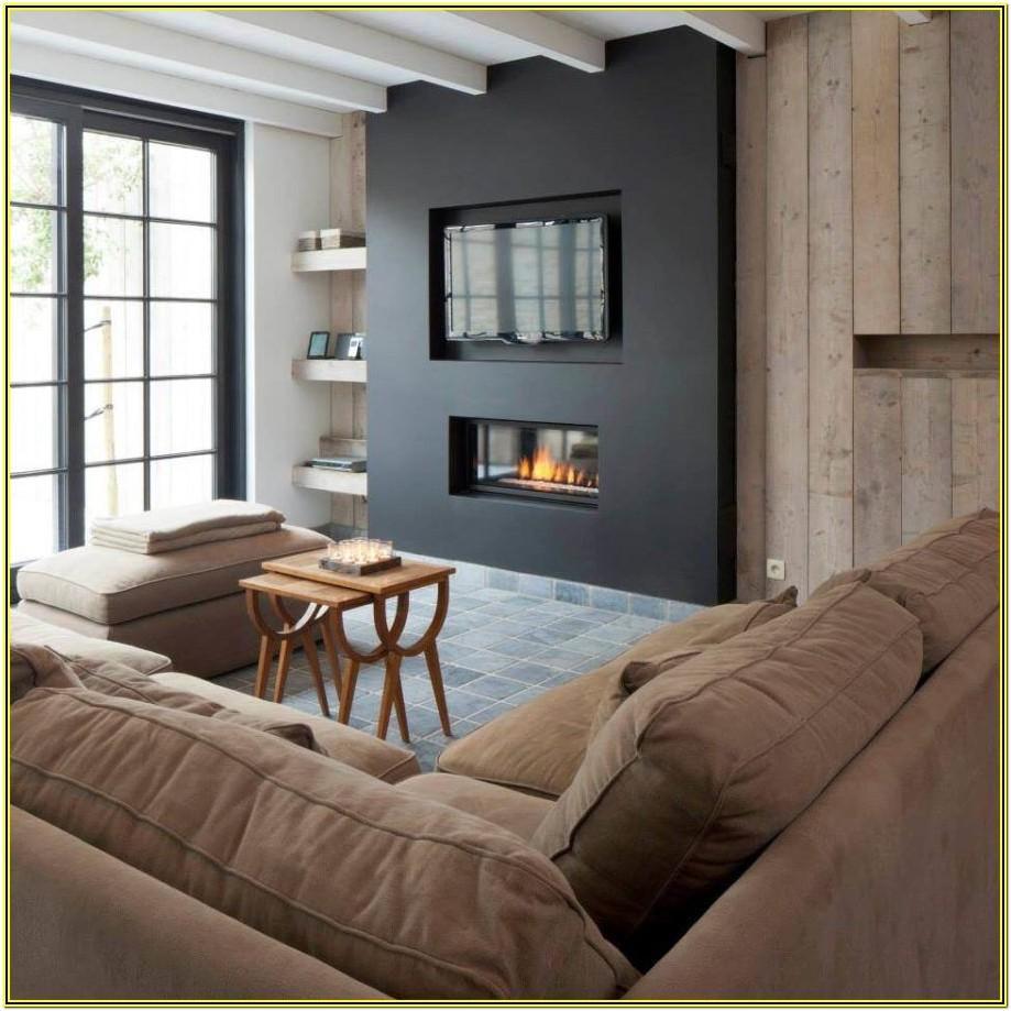 Contemporary Living Room Tv Wall Decor