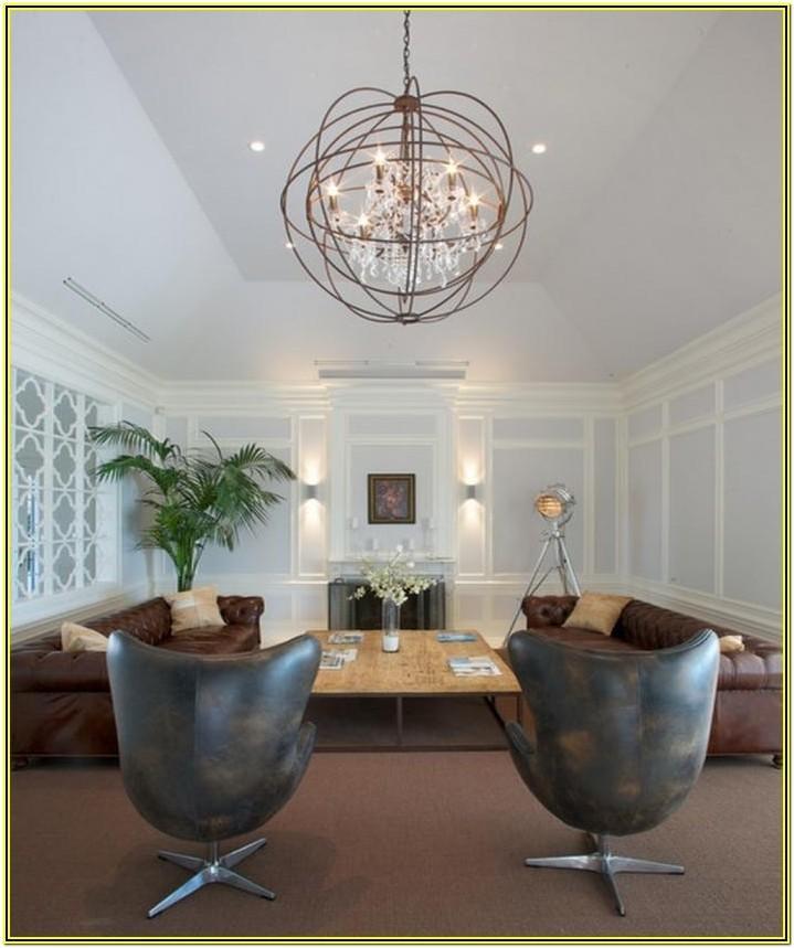 Contemporary Modern Contemporary Living Room Chandelier
