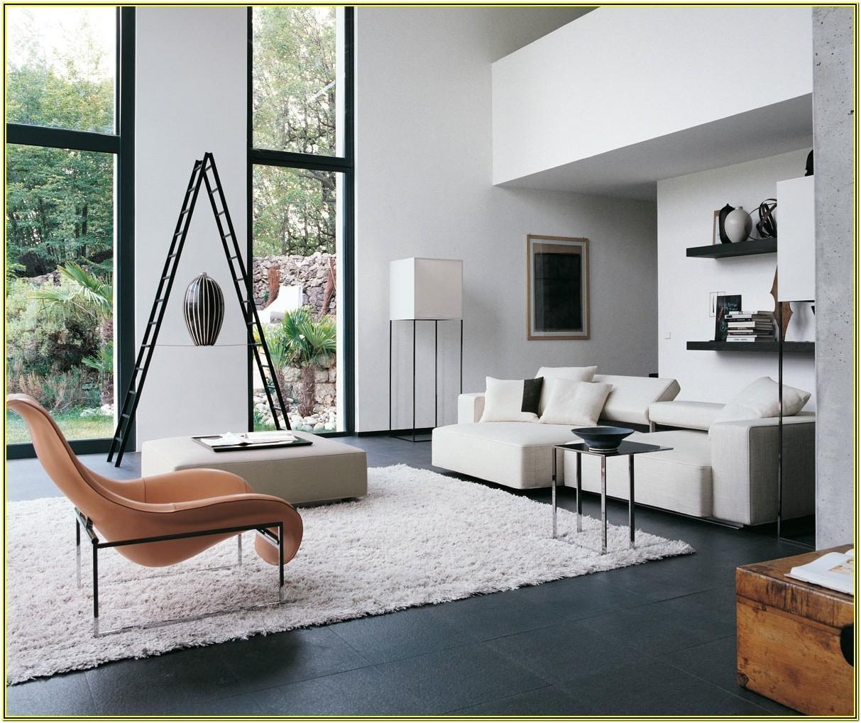 Contemporary White Living Room Ideas