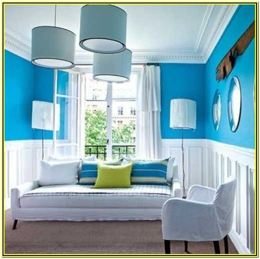 Cool Blue Paint Colors For Living Room