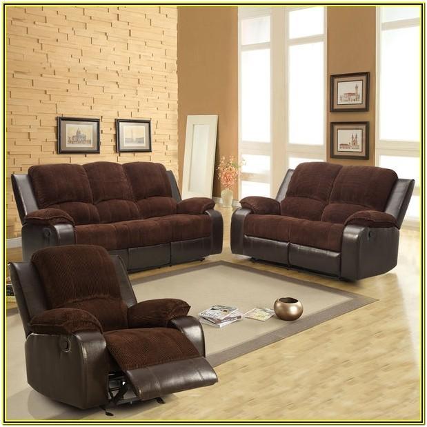 Corduroy Living Room Set