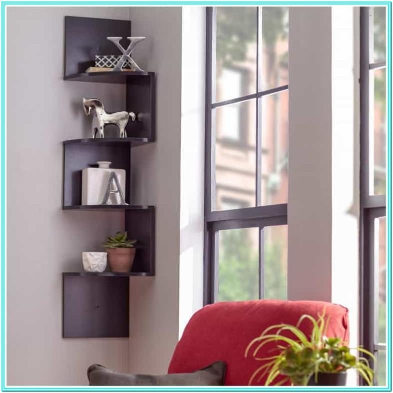 Corner Bookshelf Ideas For Living Room