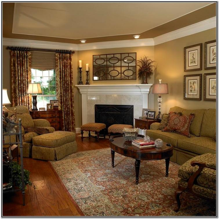 Corner Fireplace Living Room Decor