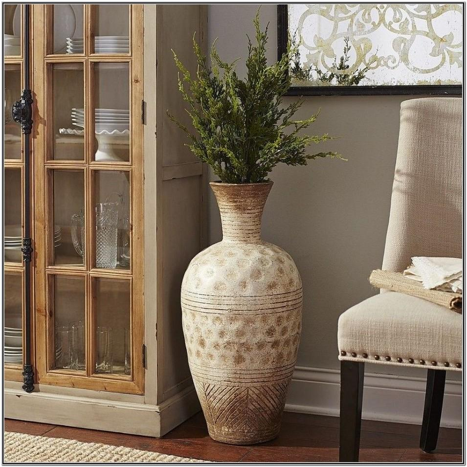 Corner Flower Vase For Living Room