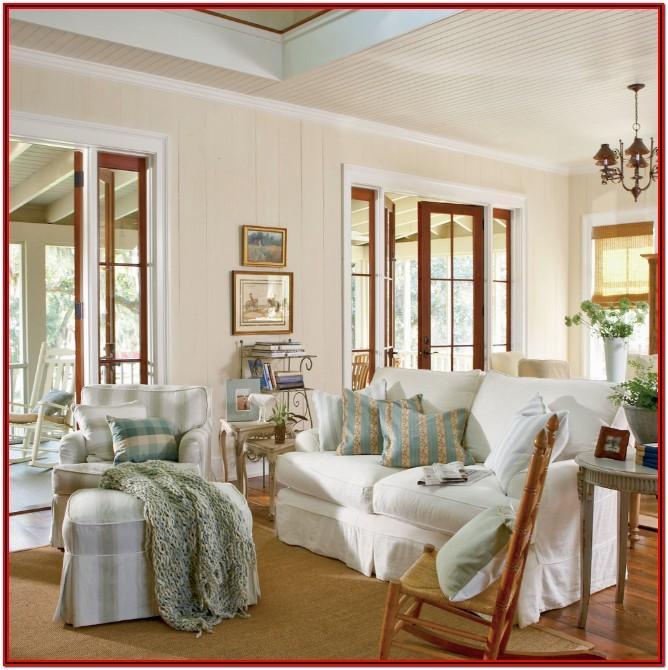 Cottage Living Room Paint Colors