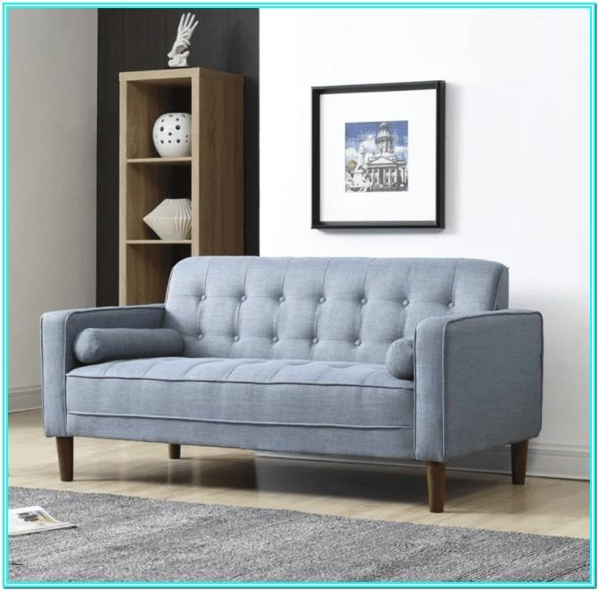 Couch And Loveseat In Small Living Room