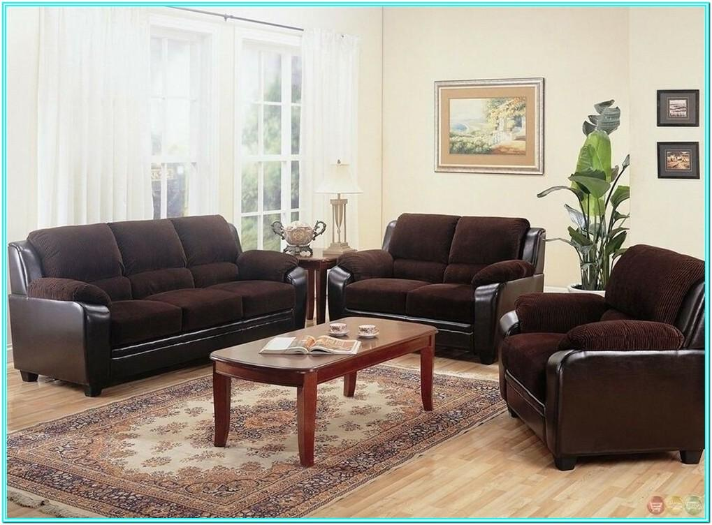 Couch And Loveseat Living Room Setup