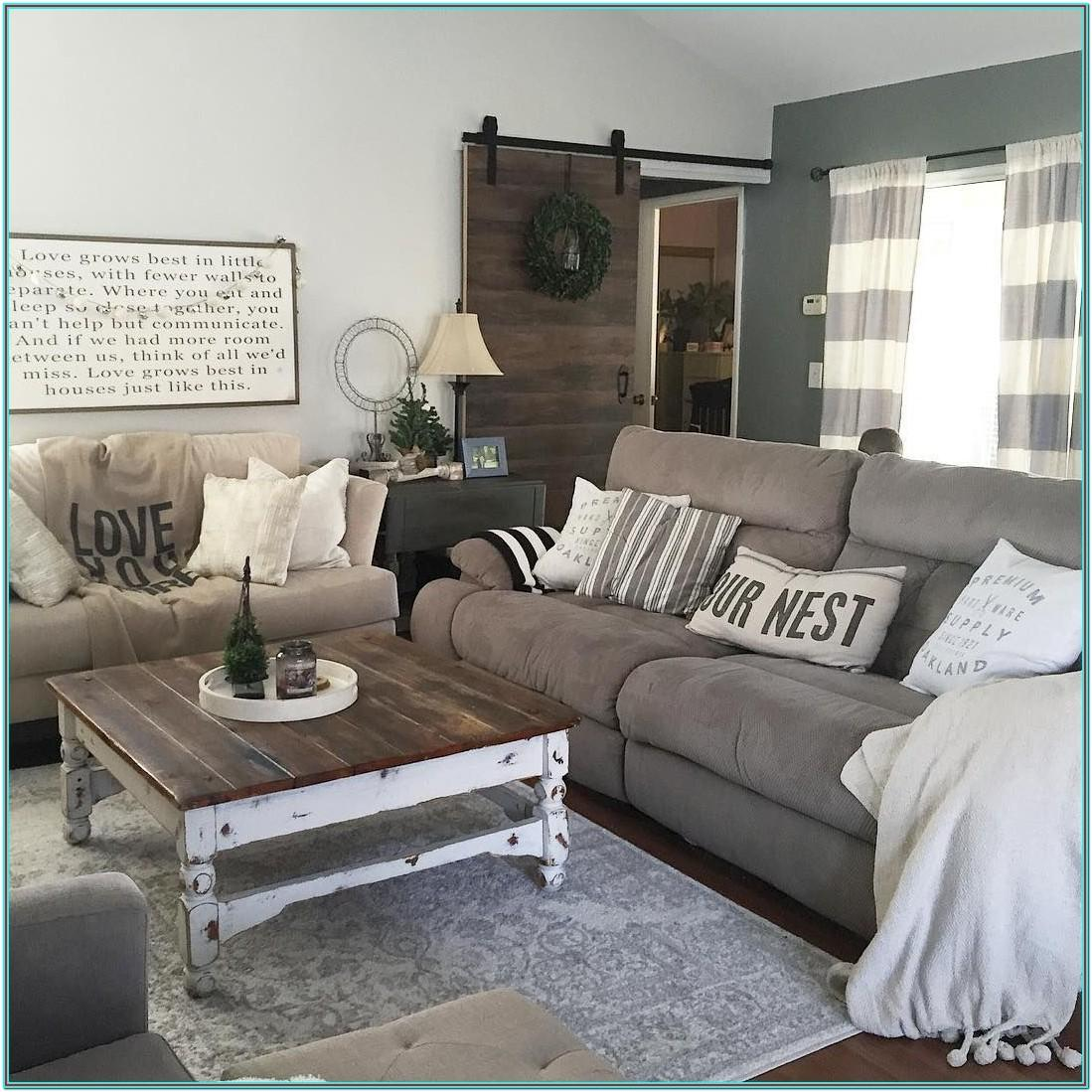 Country Chic Living Room Furniture