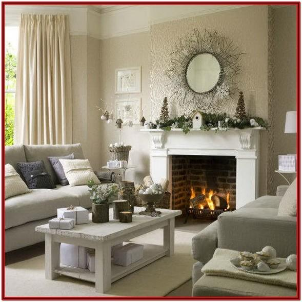 Country Living Room Curtains Ideas