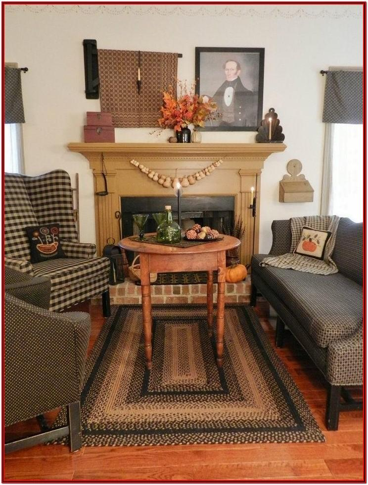 Country Primitive Living Room Furniture
