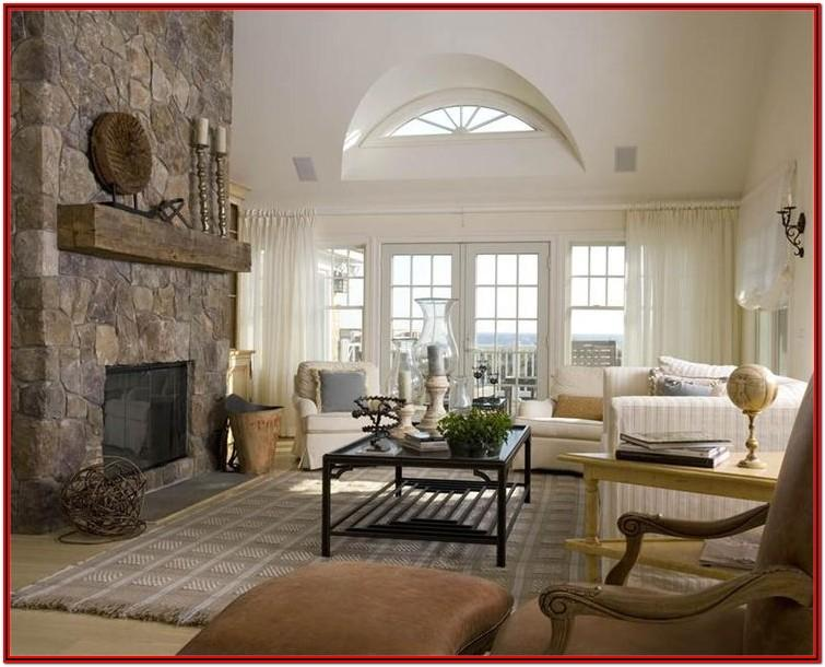 Country Rustic Living Room Paint Colors