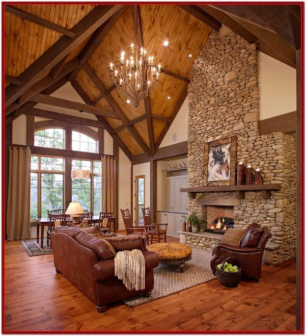 Country Style Rustic Country Living Room Decor