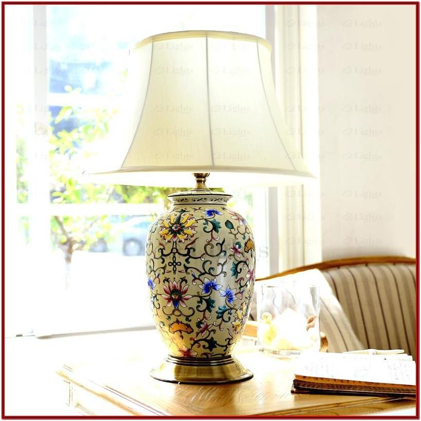 Country Table Lamps For Living Room