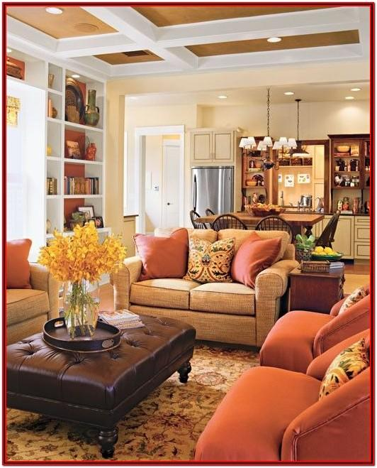 Cozy Country Living Room Paint Colors