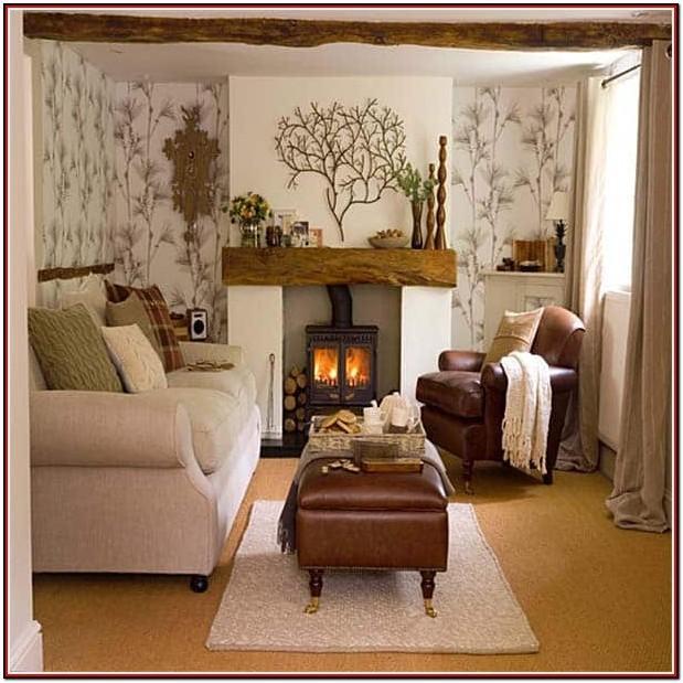 Cozy Large Living Room Design