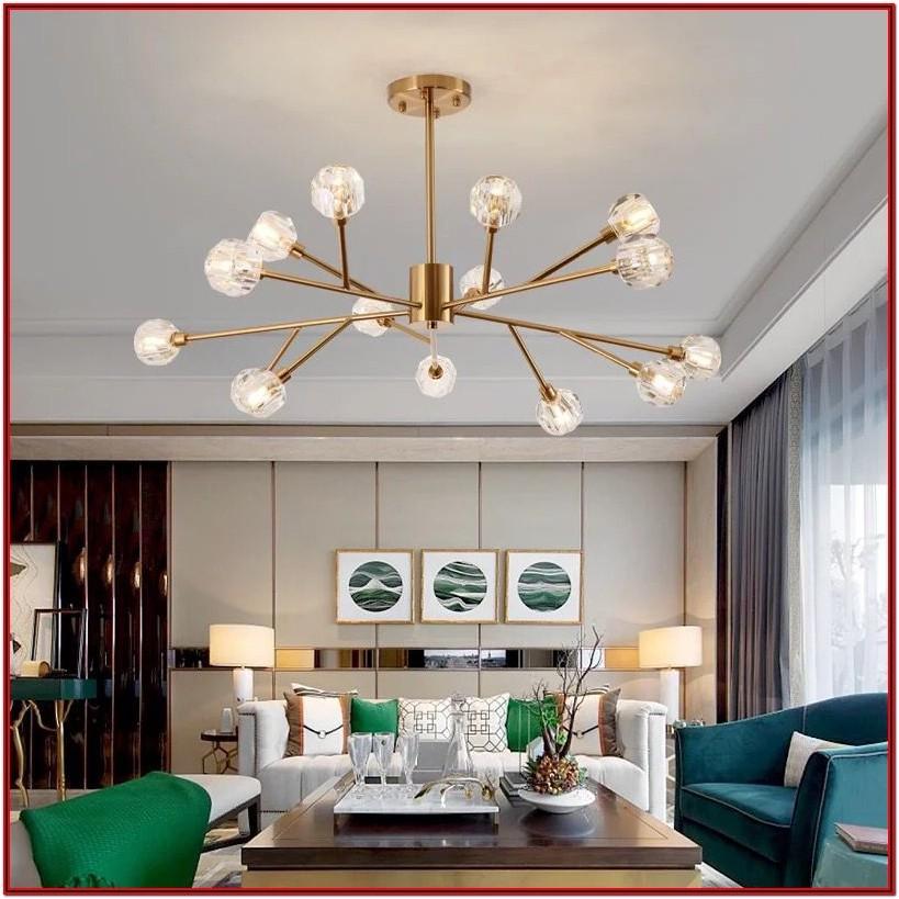 Crystal Chandelier Lights For Living Room
