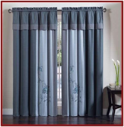 Curtain Valances Set For Living Room