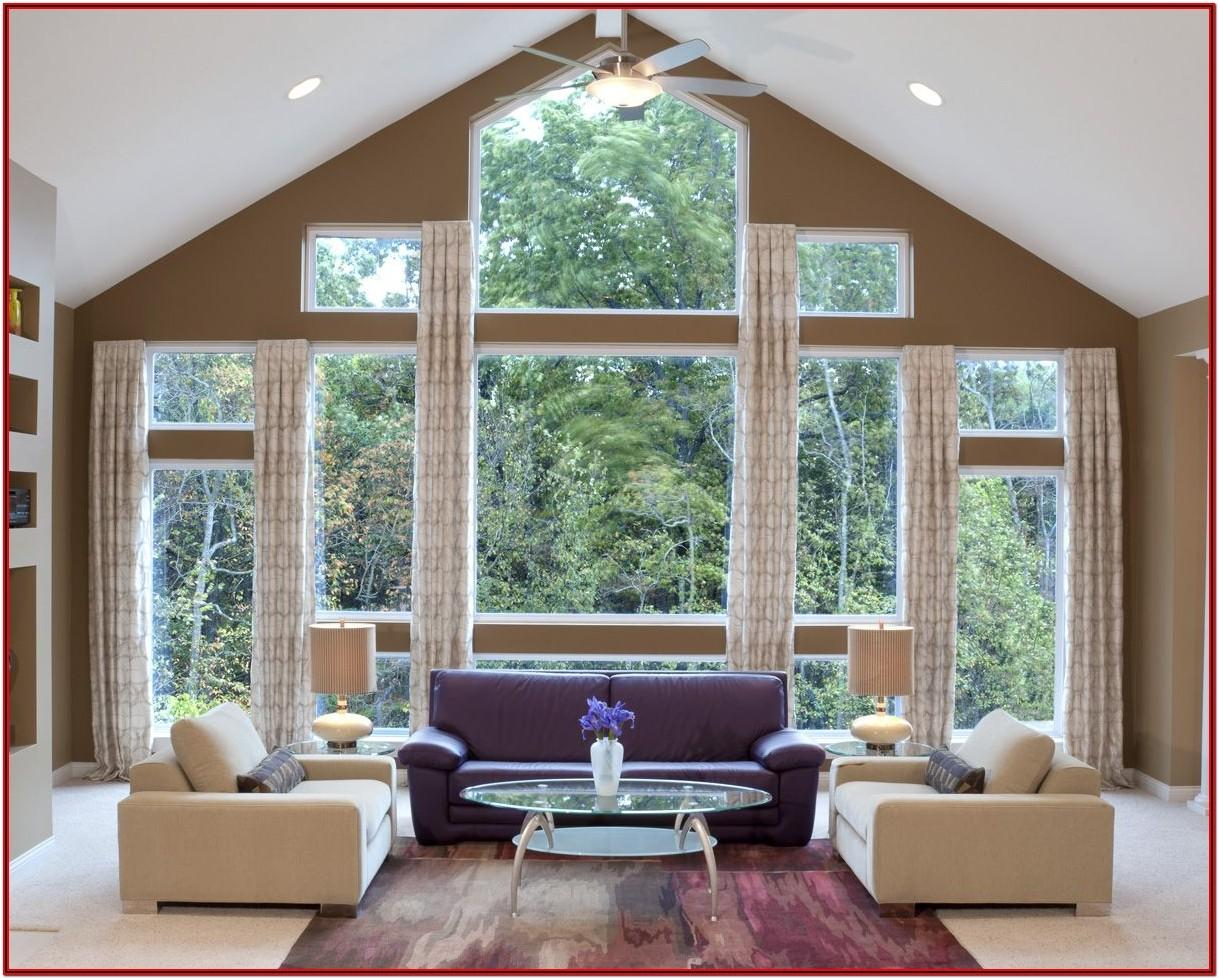 Curtains For A Large Living Room Window